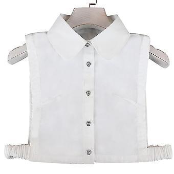 Anti Ryppy puoli paidat kirjonta väärä kaulus paksu talvi irrotettava pusero