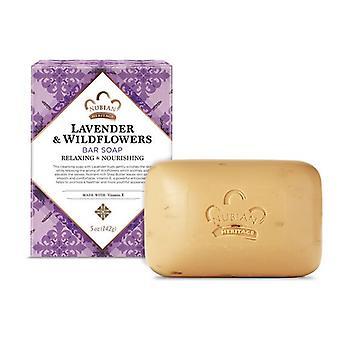 Nubian Heritage Bar Soap Lavender & Wildflowers