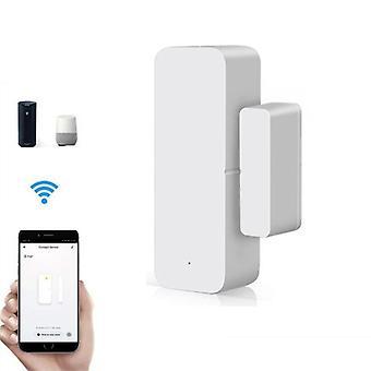 Smart Wifi Door Sensor Open /closed Detectors Magnetic Switch Window Home Work