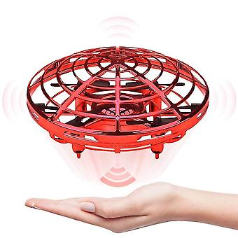 Mini drone ufo hand operated helicopter quadrocopter infrared induction aircraft flying ball toys
