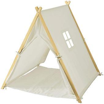 SoBuy OSS02-W,Children Kids Play Tent Playhouse with Floor Mat