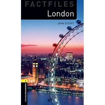 Oxford Bookworms Library Factfiles Level 1 London audio pack by John Escott