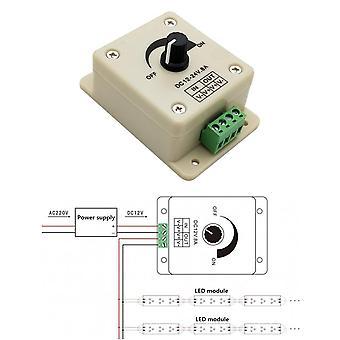 Spänningsregulator dc-dc spänningstabilisator 8a strömförsörjning justerbar varvtalsregulator dc 12v led dimmer 12 v