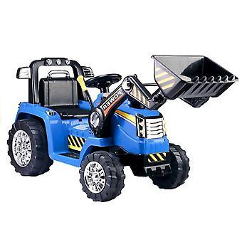 Graafmachine elektrisch bestuurbaar met bestuurbare arm – blauw