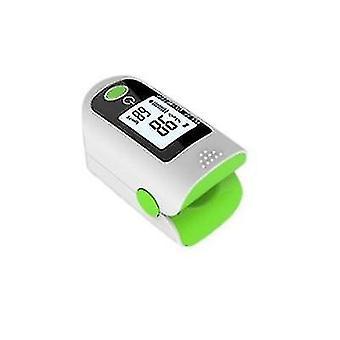 Fingertip Pulse Oximeter Blood Oxygen Saturation Monitor Finger Pulse Oximeter(Green)
