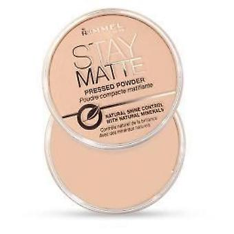 Rimmel Stay Matte Compact Powder - 001 Clear