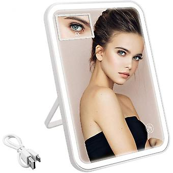 Makeup Mirror With Light And 5x Magnifying Mirror
