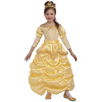 vakker prinsesse belle skjønnhet og historie bok uke jenter kostyme