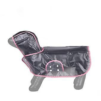 Dog Raincoat  Pink  Food