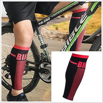Running hiking cycling leg warmers calf compression sleeve leg high protector gaiters elastic sports wrap guard shin support