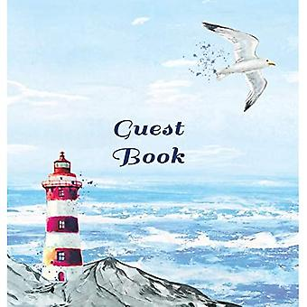 GUEST BOOK FOR VACATION HOME, Visitors Book, Beach House Guest Book, Seaside Retreat Guest Book, Visitor� Comments Book.: HARDCOVER: Suitable for Beach House, Vacation Home, Boats, Airbnb, Airbnb, Guest House