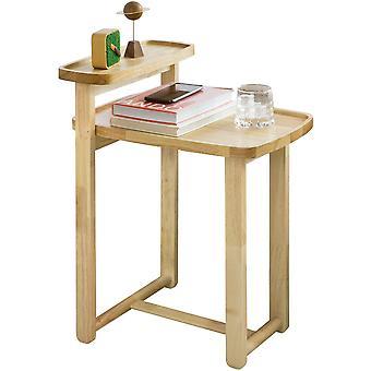SoBuy FBT89-N,End Table,Rubber Wood