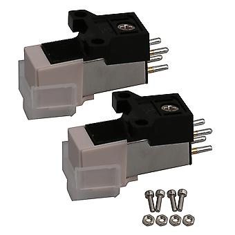 Turntable accessories 2pcs turntable phono cartridge replacement parts for vinyl record player