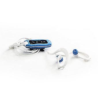Mp3 players mp3 player sea weed blue 4 gb fm waterproof