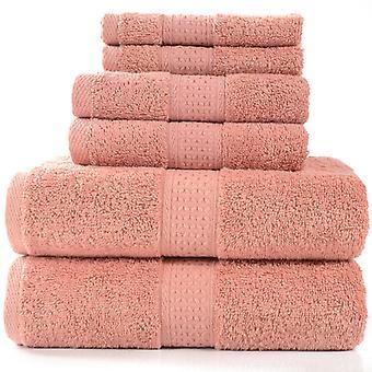 Towel Set - Set Of 6 Sets Of Towels 100% Cotton 950g / M, Bath Towel 2 Bath Towels + 2 Towels