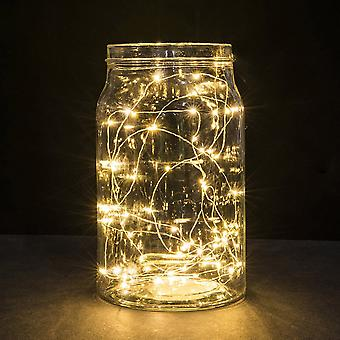 1m String Fairy Light 10 Led Battery Operated Xmas Lights Party Wedding Lamp