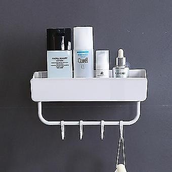Space Saving Portable Storage Rack In Bathroom