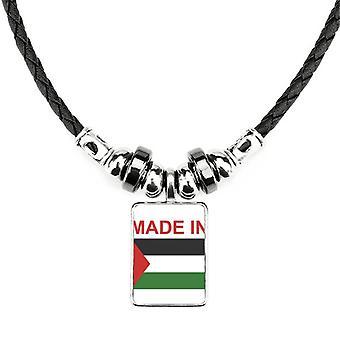 Vyrobené v palestínskej krajine Láska náhrdelník
