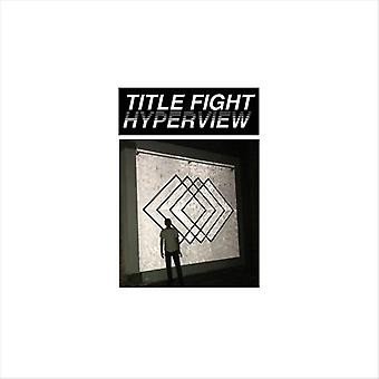 Title Fight - Hyperview [Vinyl] USA import