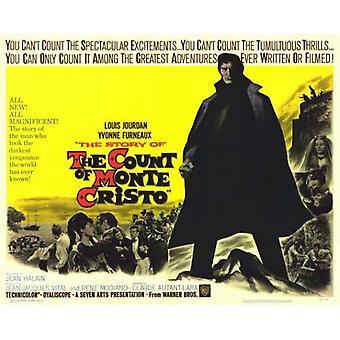 Monte Cristo elokuvan juliste (11 x 14) määrä