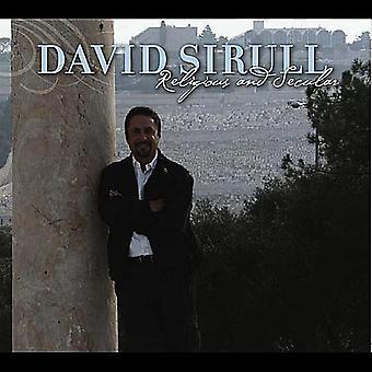David Sirull - importación de USA de religiosos y seculares [CD]