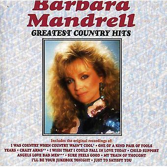 Barbara Mandrell - Greatest Hits van het land [CD] USA import