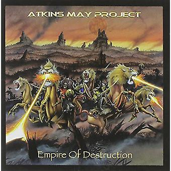 Atkins peut Project - importer des USA de Empire of Destruction [CD]