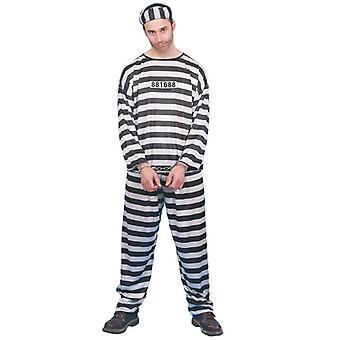 Więzień więzienia Beagle kostium skazaniec