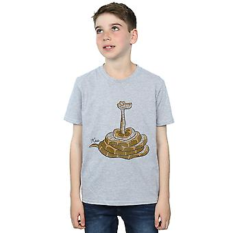 Disney Boys The Jungle Book Classic Kaa T-Shirt