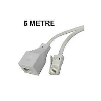 Телефон удлинители 3, 5, 10, 15 или 20 метровый кабель для BT тип розетки