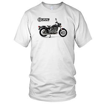Oeral Russische motorfiets motorfietsen klassieke fiets Mens T Shirt