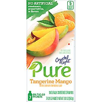 Kristal licht Pure Tangerine Mango drank Mix