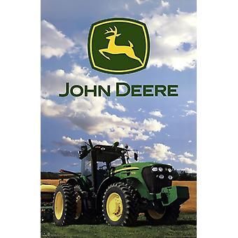 John Deere - logotypen 2014 affisch affisch Skriv