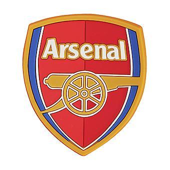 Arsenal FC fútbol cresta caucho imán de nevera