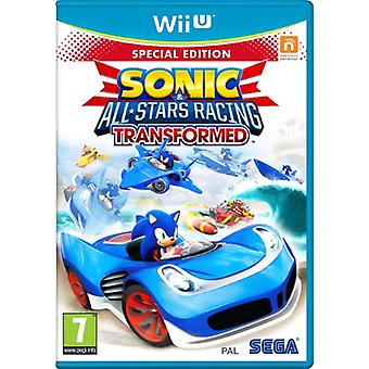 Sonic and All Stars Racing Transformed Limited Edition (Nintendo Wii U) - As New