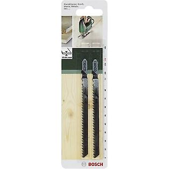 Jigsaw blade HCS, T301 CD Bosch Accessories 2609256725 2 pc(s)