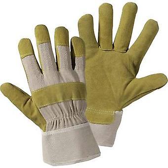 L+D Upixx 1521 Split leather Protective glove Size (gloves): 10.5, XL 1 Pair