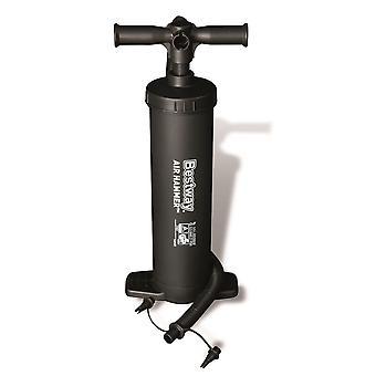 BestWay Hammer inflatie Hand luchtpomp 19-inch voor luchtbed, zwembad etc