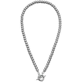 Начинаний Bead Multi T бар ожерелье - серебро