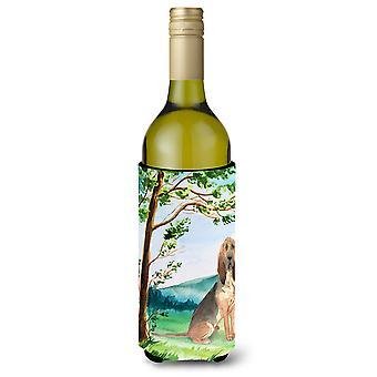 Bajo el árbol Bloodhound botella de vino bebidas aislador Hugger
