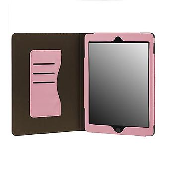Iphone iPad Air 2 card holder rest/wake-up & Support function PINK
