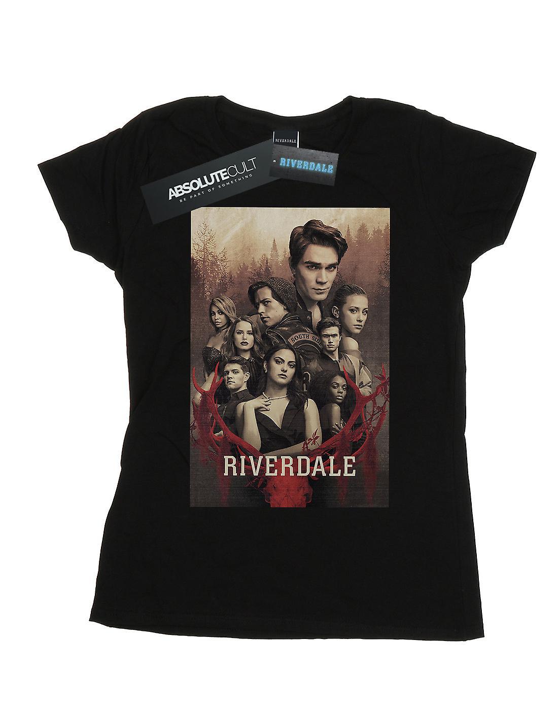 Riverdale Women's Stag Skull T-Shirt