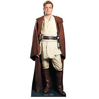 Obi Wan Kenobi - Star Wars Lifesize karton gestanst / Standee (Ewan McGregor)