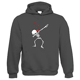 Dabbing Esqueleto Valentine, Hoodie - Valentines Gift-Lo Dela