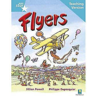Flygblad: Turkos nivå (Rigby stjärna guidad)