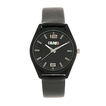 Crayo Dynamic Unisex Watch - Black