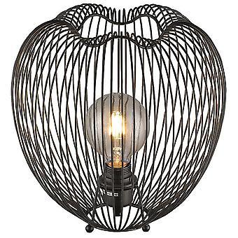 Lente verlichting - Leeds Matt Black tafel Lamp EPMM030NC1UBCM