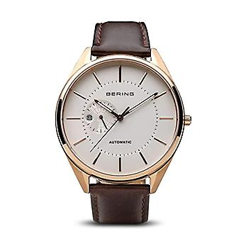 Bering Analog automatic men's watch with leather 16243-564