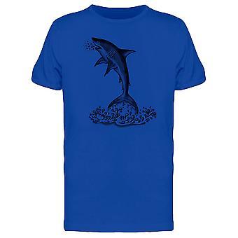 Hai Jumpin T-Shirt Herren-Bild von Shutterstock