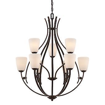Chantilly Nine Light Chandelier - Elstead Lighting Qz / QZ/CHANTILLY9